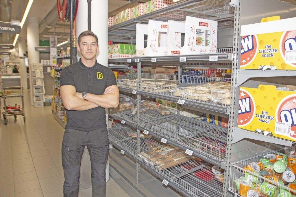Butikksjef på Bunnpris, Trond Espen Berg