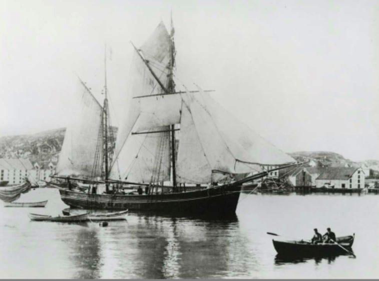 Eldre seglskute