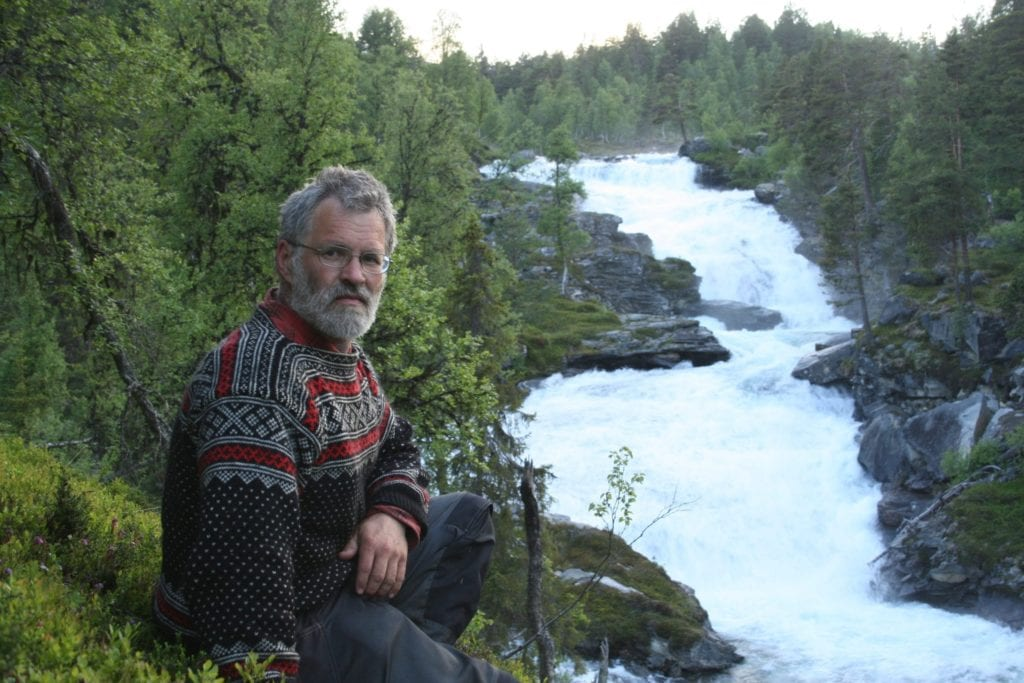 Øystein Folden, leiar Naturvernforbundet i Møre og Romsdal