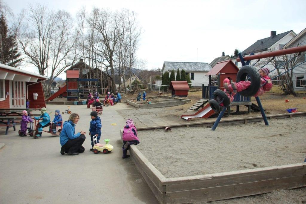 Tryggheim barnehage.