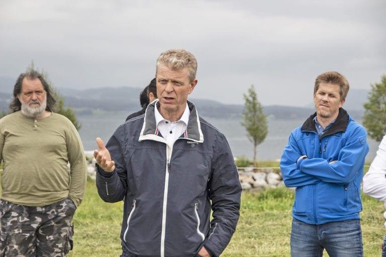 Cato Lyngøy, styreleiar i Hauge Aqua Farming.