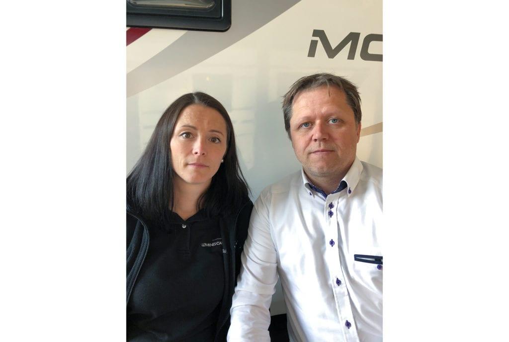Tanja og Jan Henning Løviknes