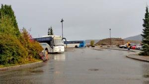 Buss i regnvêr