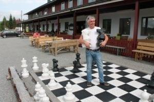 Om Ørskogfjellet blir sjakk matt eller får ein god sesong, anar Harry Klein Hulse ingenting om.