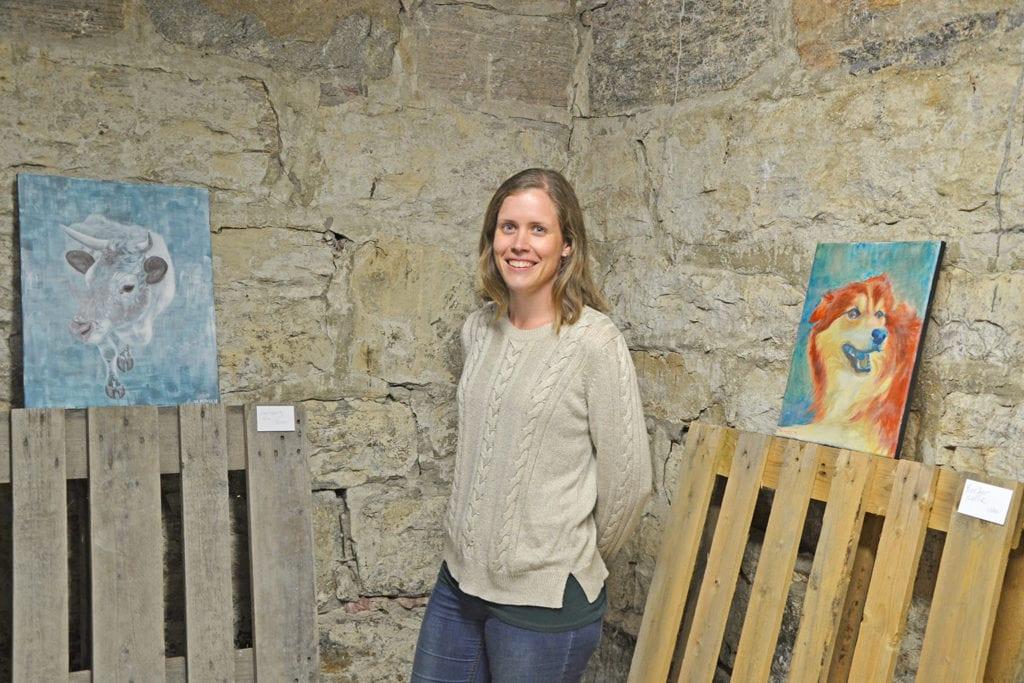 Utstillinga til Ida har funne sin plass i det tidlegare grisefjøset på Landbruksskulen.