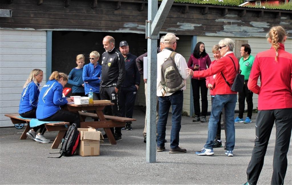 81 menneske registrerte seg før tur arrangert av Fiksdal idrettslag.
