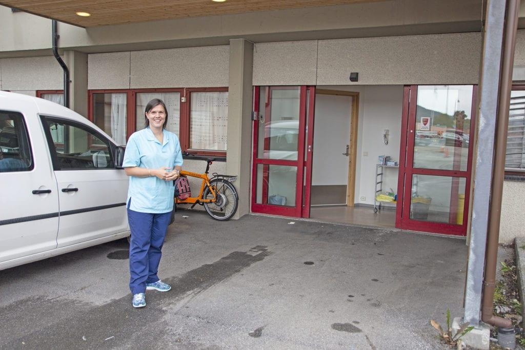 Kommunelege Sabine Relling Bredeli seier det er god kapasitet for testing i Vestnes.