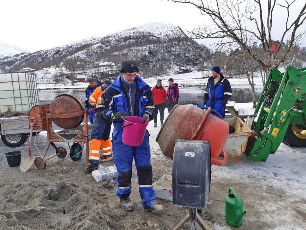 Draumeplassen er eit prosjekt der lag og organisasjonar kan søke støtte til sin draumeplass. (Foto: 4H Møre og Romsdal)