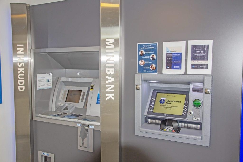 Dersom vektarstreiken held fram kan minibankar og butikkar gå tom for kontantar.
