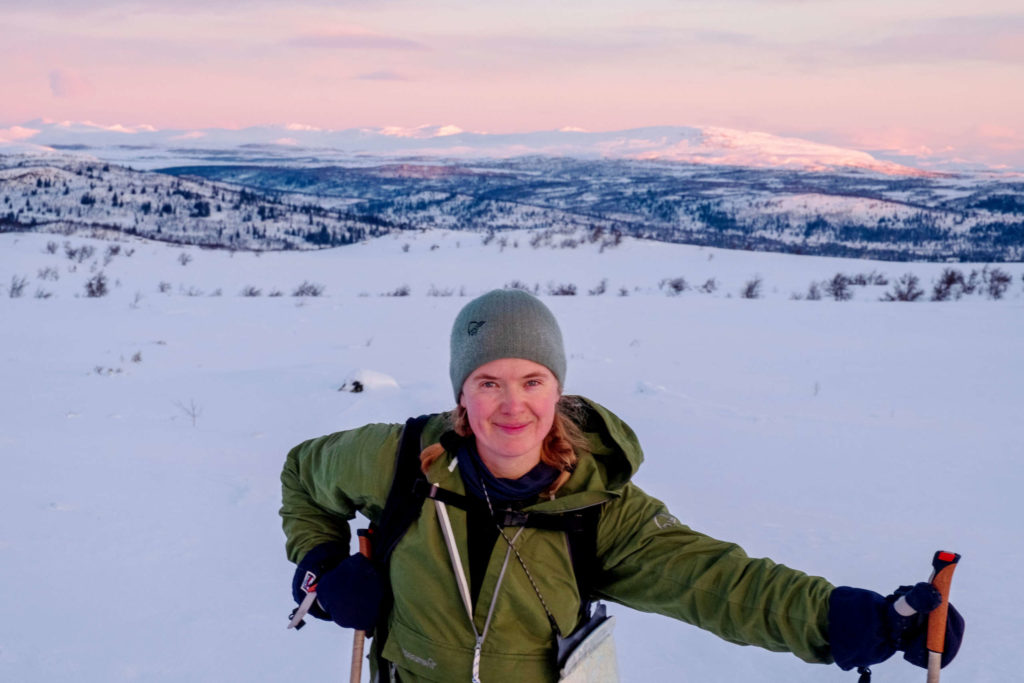 Prosjektleiar i Sunnmøre friluftsråd, Ellen Marte Solem.