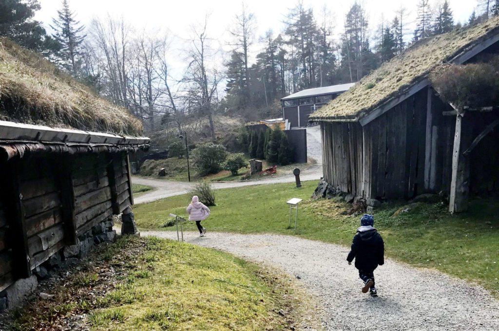 Arkivbilete frå Sunnmøre museum i Ålesund.